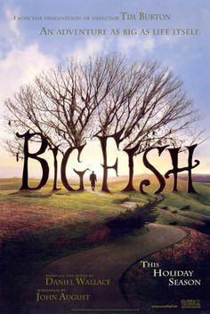Big Fish (2003) Adventure | Drama | Fantasy  Director: Tim Burton 'Bazen savaşmak zorunda kalırsın bazen de yenildiğini,geminin yelken açtığını sadece aptalların vazgeçmeyeceğini anlarsın. Doğrusu ben hep aptal oldum.' BIG FISH
