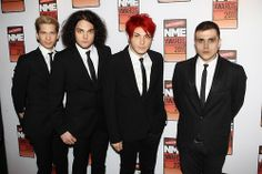 MCR switched faces..cracks me up
