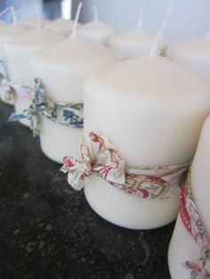 Simple yet beautiful. Make a great gift. Communion Decorations, Christening Decorations, Candle Lanterns, Pillar Candles, Advent, Afternoon Tea Parties, Christmas Labels, Wedding Day Inspiration, Baby Party