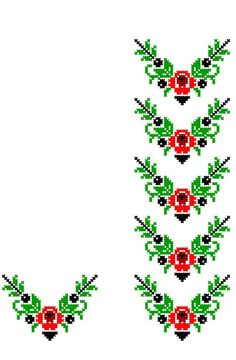 Beaded Cross Stitch, Cross Stitch Flowers, Cross Stitch Patterns, Hand Embroidery Videos, Cross Stitching, Bookmarks, Projects To Try, Shapes, Akita