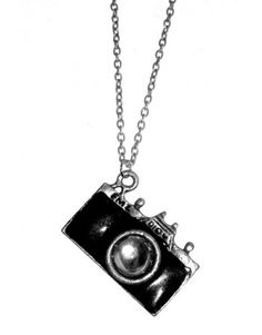Love Hearts and Crosses - Paparazzi Camera Necklace - Quirky Fashion Jewellery and Accessories