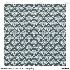 Abstract Tribal Pattern Fabric