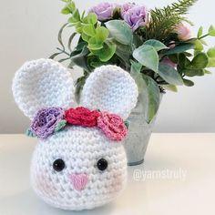 Happy Easter and Passover everyone!  . . . #crochet #crocheting #crochetaddict #crochetbunny #bunny #easterbunny #spring #happyeaster #knitting #knittersofinstagram #crochetersofinstagram #yarn #yarnaddict #amigurumi #nursery #babygirl #handmade #springflowers #crochetflower #flowers #easter #blogger #crafts #yarnlove #yarnstruly #freecrochetpattern #crochetpattern #redheartyarn
