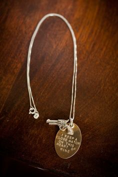 Johnny Cash Necklace from Robinson Lane and Bourbon & Boots