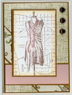 Dress Form by BarbieP - Cards and Paper Crafts at Splitcoaststampers Sewing Cards, Something Old, Dress Form, Heavy Metal, Card Ideas, Backgrounds, Quilting, Paper Crafts, Couture