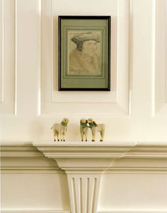 'Pointing': Farrow & Ball's best-selling paint color // by xJavierx, via Flickr