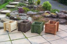 Image detail for -Hand-made in Wales from recycled pallets. These planters are available ...