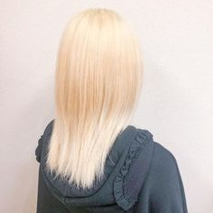 Hanaさん(@hana_knowledge) • Instagram写真と動画 White Blonde, My Hair, Long Hair Styles, Beauty, Black, Instagram, Black People, Long Hair Hairdos, Cosmetology