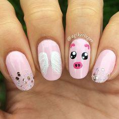 WEBSTA @ agikeringer - Rest In Peace sweet little piggy @ms.petuniapiggleworth 😔💔 #rippetunia ...#nail #nails #notd #nailsoftheday #nailart #nailartaddict #nailpolish #nailpolishaddict #nailstagram #nailspiration #ignails #instanails #hairandnailfashion #nailartoohlala #craftyfingers #nails2inspire #tumblrnailsxo