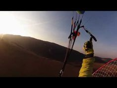 sunset power paragliding - Justfly.sk - YouTube