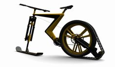 Cool bike concept lets you go cycling and skiing at the same time