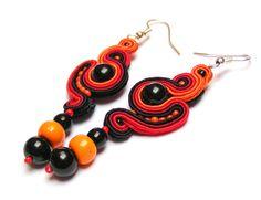 Sutasz-Anka: Formica - earrings http://www.soutage.com/2013/01/mandalay-kolczyki.html