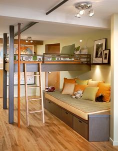 ❉ loft bed
