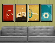 Posters Any Pixar Fan Must Have | 1 Design Per Day