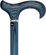 Blue Denim Derby Walking Cane With Ash Wood Shaft and Silver Collar - I like this cane.  If you are a cane user, check out www.fashionablecanes.com for a TON of cane options and a variety of prices as well!  It's hard to choose a favorite!!