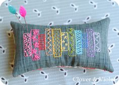 I'm swapping again…I know, I cannot seem to help it…this time it's the Fab Little Pincushion Swap {FLiP}. My secret partner had this pincushion in her favorites. It also rem…