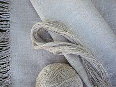 hand-spun linen