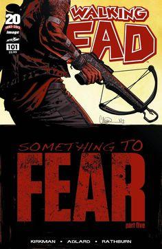 Capa da Edição #101 de The Walking Dead
