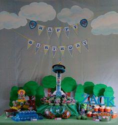 Sally M's Birthday / Paw Patrol - Photo Gallery at Catch My Party Kids Birthday Themes, Kids Party Themes, 3rd Birthday Parties, Birthday Party Decorations, 2nd Birthday, Party Ideas, Theme Ideas, Birthday Cakes, Paw Patrol Birthday Cake