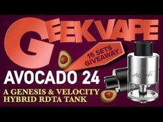 Avocado 24 RDTA by Geek Vape I Quick Tutorial & Giveaway!