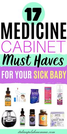 Here are 17 baby medicine must haves to always have on hand! Put these baby medicines on your registry because trust me you will use them! These are perfect baby essentials to have in your baby medicine kit! Baby Health, Kids Health, Children Health, Health Care, Baby Medicine Kit, Baby Items Must Have, Baby Registry Items, Baby Care Tips, Baby Tips