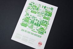 Ceres Fair Food identity by SouthSouthWest