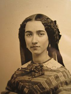 Antique Ambrotype Civil War Era American Beauty Brunette Fashion Troy NY Photo | eBay