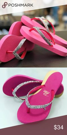 9f2589ba6b7967 Rio Custom Crystal Pink Brazilian Flip Flops Crystal Pink Stylish Design flip  flops with Crystals Embelishment