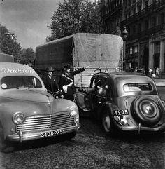 Bd St Michel, Robert Doisneau, 1951