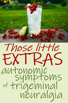 Chronic illnesses like Trigeminal Neuralgia often come with a shedload of little extras, or autonomic symptoms if you're talking to your doctor – and none of them have patients jumping up and down with joy. Ocular Migraine, Hemiplegic Migraine, Chronic Migraines, Chronic Illness, Chronic Pain, Trigeminal Neuralgia Symptoms, Hair Sensation, Visual Snow, Pain Management