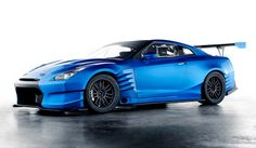 Brian's Nissan R35 GT-R in Fast and Furious 6.  To see more Nissans in the Fast and the Furious movies, click the photo!
