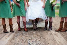 I can't pin enough dresses and boots.. they just go so well together!