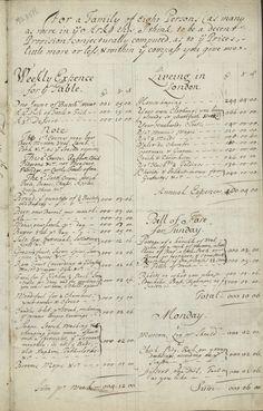 Carta revela lecciones de economía doméstica del siglo XVII en Londres | Brújula Cultural
