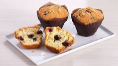 Bake With Anna Olson TV Show recipes on Food Network Canada; your exclusive source for the latest Bake With Anna Olson recipes and cooking guides. Anna Olson, Muffin Recipes, Cupcake Recipes, Baking Recipes, Dessert Recipes, Blueberry Streusel Muffins, Blue Berry Muffins, Dessert Simple, Gastronomia