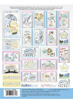 AmazonSmile: Anita Goodesign Embroidery Designs Special Edition Collection Nursery Rhymes