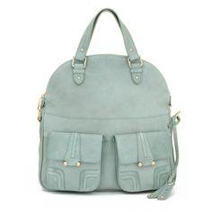 Another of Belen Echandia's great bags... (BE SS12 Barcelona satchel mint)