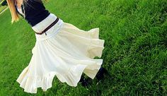 Tablecloth to skirt
