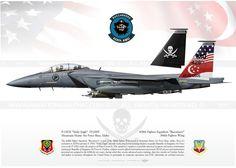 "F-15SG ""Strike Eagle"" ""Buccaneers"" 428FS JP-1744"