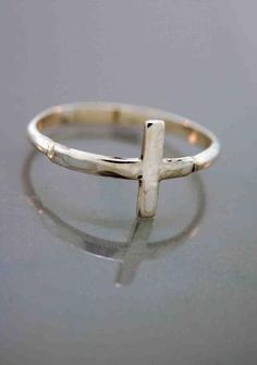 cross ring. Love this!