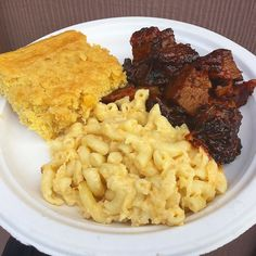 Burnt ends and Mac and cheese @thegrillingco #thegrillingcompany #burntends #bbq #barbecue