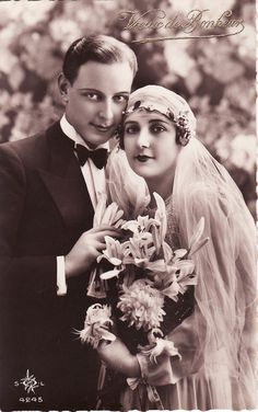 1920's Wedding. The groom kinda looks like Shelden Cooper from big band theroy but with makeup lol