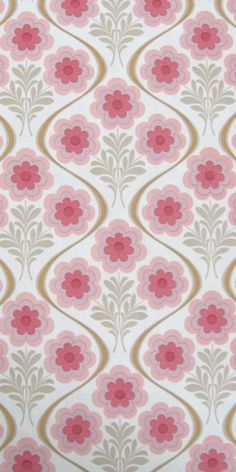 vintage wallpaper - love this for a little girl's nursery!