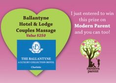 Massage for a couple!