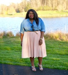 Spring Trends Lookbook: Pleats. Plus Size Fashion. Torrid. Ava and Viv.