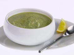 Artichoke Soup with Fresh Mint Recipe : Giada De Laurentiis : Recipes : Food Network Mint Recipes, Easy Salad Recipes, Soup Recipes, Cooking Recipes, Healthy Recipes, Giada Recipes, Healthy Habits, Summer Recipes, Healthy Meals