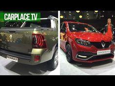 Picape Duster Oroch, Sandero RS e mais no CARPLACE TV - YouTube