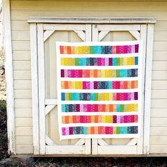 My Go-Go Life: Rainbow Quilt Top Finish!