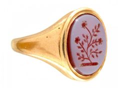 antique carnelian signet ring - Google Search