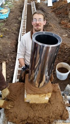 Epic Greenhouse Rocket-Mass Heater - Midwest PermacultureYou can find Rocket stoves and more on our website. Heating A Greenhouse, Aquaponics Greenhouse, Aquaponics Diy, Greenhouse Plans, Aquaponics System, Hydroponics, Greenhouse Wedding, Greenhouse Heaters, Backyard Greenhouse