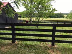 Farm Gate, Farm Fence, Fence Gate, Driveway Entrance Landscaping, Backyard Fences, Fenced Garden, Post And Rail Fence, Split Rail Fence, Rustic Fence